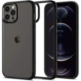 iPhone 12 PRO MAX Coque Spigen ULTRAHYBRID Noir