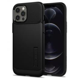 iPhone 12 PRO MAX Coque Spigen SLIMARMOR Noir