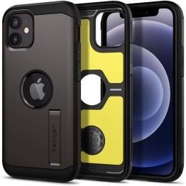 iPhone 12 MINI Coque Spigen TOUGHARMOR Gris