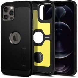 iPhone 12 PRO MAX Coque Spigen TOUGHARMOR Noir