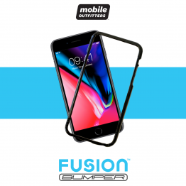 iPhone 8+/7+/6S+/6+ Bumper Mobile Outfitters FUSIONBUMPER Noir