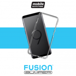 Galaxy S9 Bumper Mobile Outfitters FUSIONBUMPER Transparent