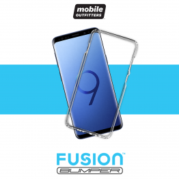 Galaxy S9+ Bumper Mobile Outfitters FUSIONBUMPER Transparent