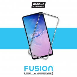 Galaxy S10E Bumper Mobile Outfitters FUSIONBUMPER Transparent