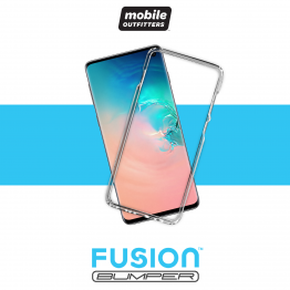 Galaxy S10 Bumper Mobile Outfitters FUSIONBUMPER Transparent