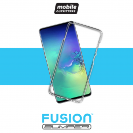 Galaxy S10+ Bumper Mobile Outfitters FUSIONBUMPER Transparent
