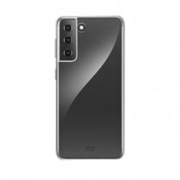 Galaxy S21+ Coque Silicone Xqisit FLEXCASE Transparent