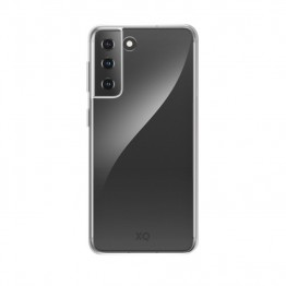 Galaxy S21 Coque Silicone Xqisit FLEXCASE Transparent