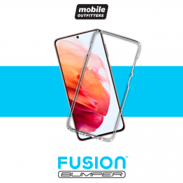Galaxy S21 Bumper Mobile Outfitters FUSIONBUMPER Transparent