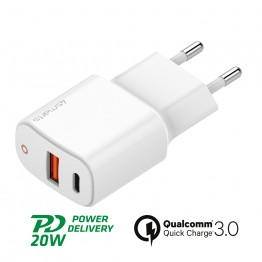 20W PD Embout Home 4Smarts VOLTPLUG Blanc