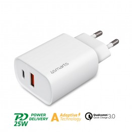 25W PD Embout Home 4Smarts VOLTPLUG Blanc