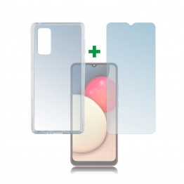 Galaxy A02S Pack 4Smarts PROTECTION360 Transparent