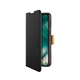 Galaxy A02s Etui Wallet Xqisit XQSELECTION Noir