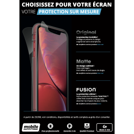 Affiche A4 Mobile Outfitters X3 BLACK