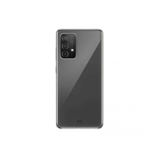 Galaxy A72 Coque Silicone Xqisit FLEXCASE Transparent
