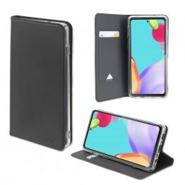 Galaxy A72 Etui Wallet 4Smarts URBANLITE Noir