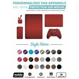 Affiche A4 Mobile Outfitters STYLE SKINS WHITE