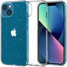 iPhone 13 Coque Spigen LIQUIDCRYSTALGLITTER Transparent