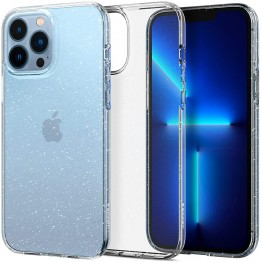 iPhone 13 PRO MAX Coque Spigen LIQUIDCRYSTALGLITTER Transparent