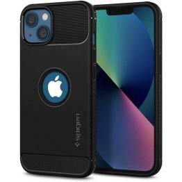 iPhone 13 MINI Coque Spigen RUGGEDARMOR Noir